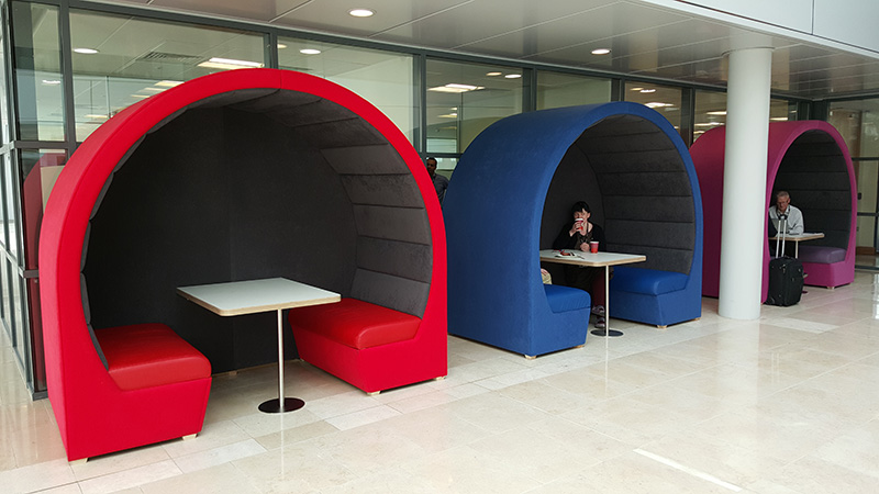 office pods for open space lobbies