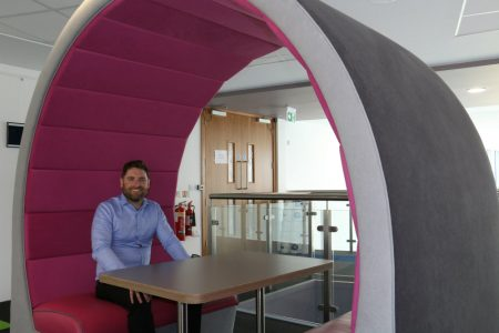 Pramerica has 'super-cool' workplace with Seating Pods