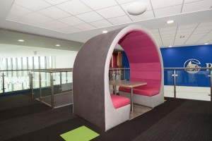 Stylish office pods