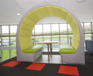 Seating office pods