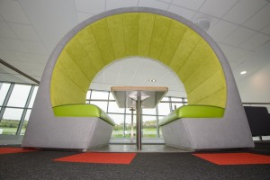 pods for open space areas