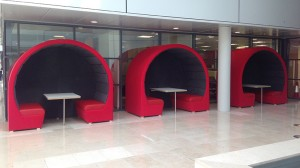 Pods for office meetings